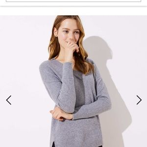 (Brand new with tags) LOFT Gray Grey Sweater